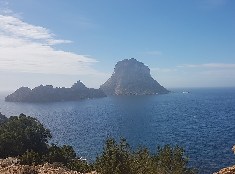 View of Es Vedra, Ibiza