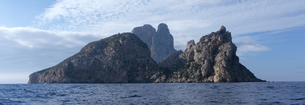 Es Vedra by sea