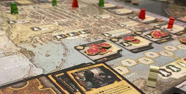 Board game Lords of Waterdeep